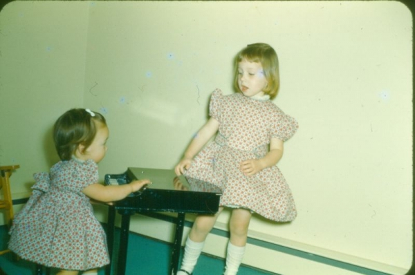 New Piano and birthday or was it Christmas cotton dresses, with no give around the neck, I was learning with each outfit they made.