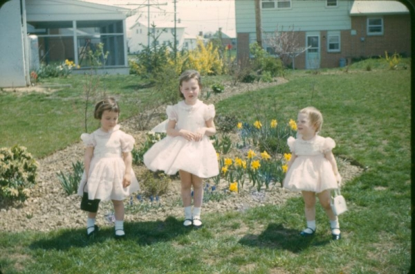 There were many Easter dresses and petticoats that were made.