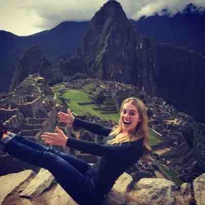 Mat pilates. The teaser @ Machu Picchu