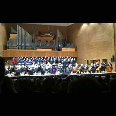 Featured soloist- Poulenc's Gloria: Idaho Falls Symphony and Collegiate Singers 2012
