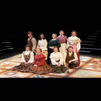 University musical production: Quilters- 2012