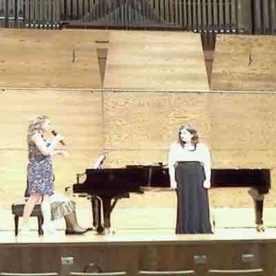 Master Class with renowned soprano, Alyson Cambridge- 2012
