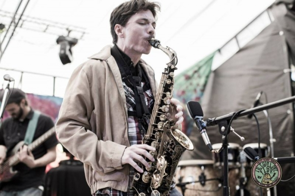 Live at a festival in Lakeland, FL on my alto saxophone.