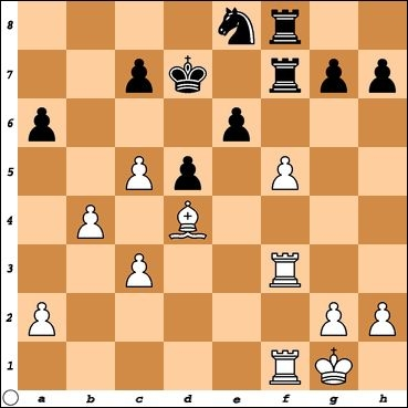 The 2nd critical moment in my game with FM Macon Shibut. White is up a pawn, but what is the most accurate continuation to ensure the win?