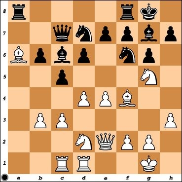 FM Boris Privman has played e4 against me, advancing in the center. What has he overlooked?