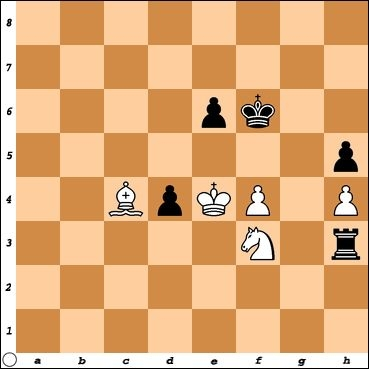 This position is from my game with NM Salvador Rosario, who had Black. How can White end the game decisively?
