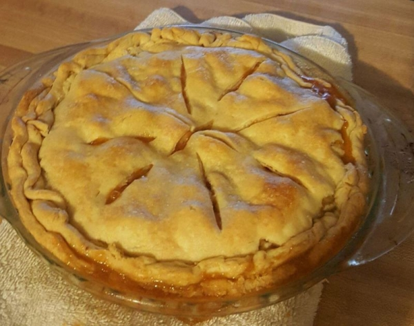 Apple and Carrot Pie