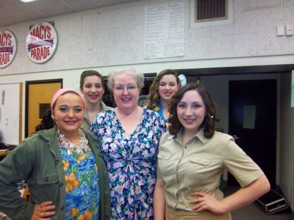 My students dominated South Pacific in 2013!  Bloody Mary and the Gals.