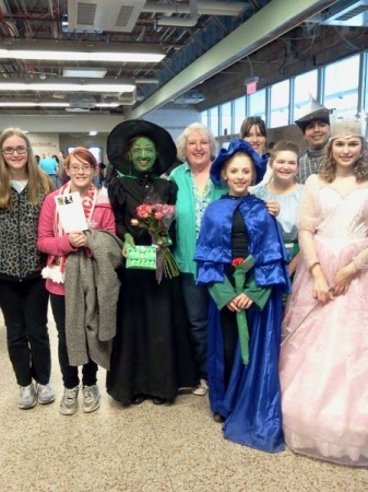 The Wizard of Oz (Tin Man; Glenda; Wicked Witch of the West; Tree; Munchkin; Spring 2014