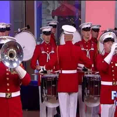 Performing on live TV for Memorial Day 2017