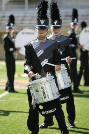 Performing with Legends Drum and Bugle Corps in 2010