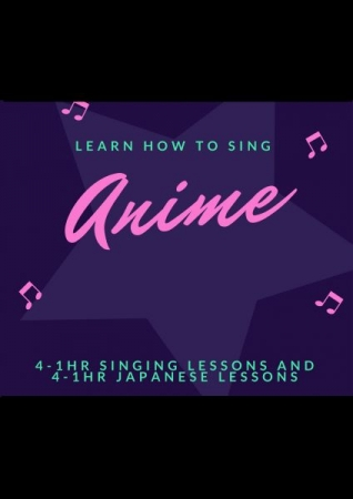 With this package you'll get 4-1 hour Singing lessons and 4- hour Japanese lessons! To Book call TAKELESSONS NOW!