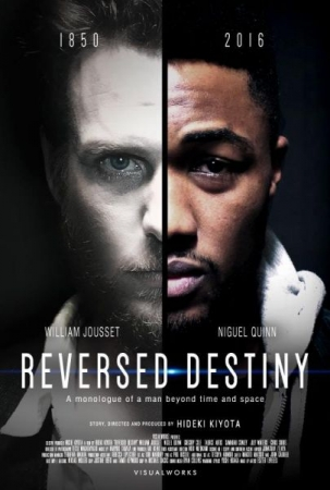 "A poster from the International Cannes Film Festival Selected ""Reversed Destiny"""