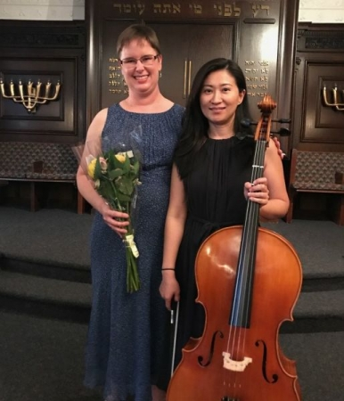 Spring recital with one of my adult students.