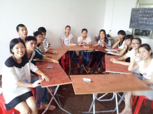 The last class. Summer camp 2014