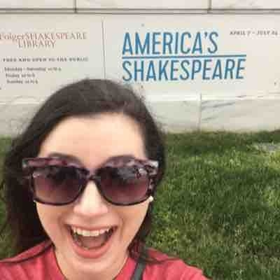 Visit to the Folger Shakespeare Library in DC. 2016.