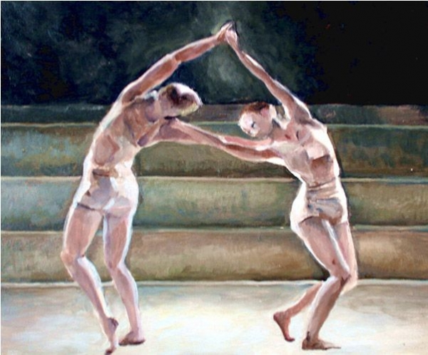"""Two Dancers""
