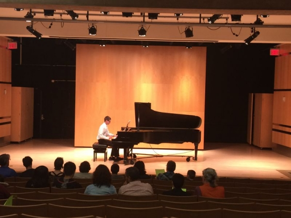 A longtime teen student of mine who enjoys playing classical music shines at his recital at the University of Massachusetts.