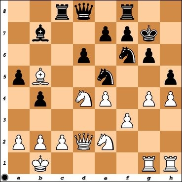 NM Stuart Finney has launched an attack against my King. How can Black stymie White's plan?