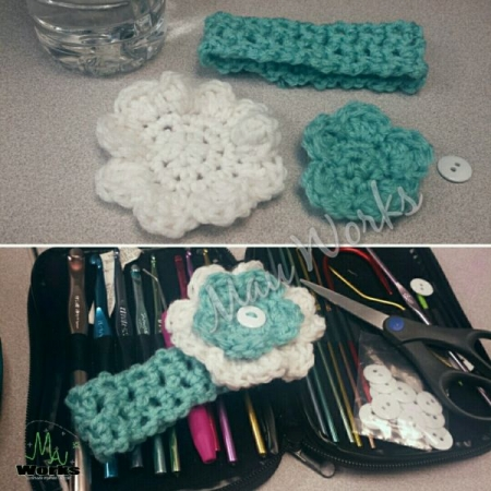 Before and after (crochet)