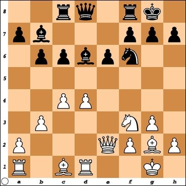 Versus NM Mike Fellman. Black is hoping to play Qc7 and c5, freeing his position. How can White prevent this?