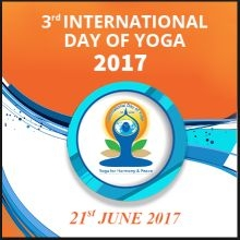 celebrate Yoga day by doing Surya namaskara & other Yoga.