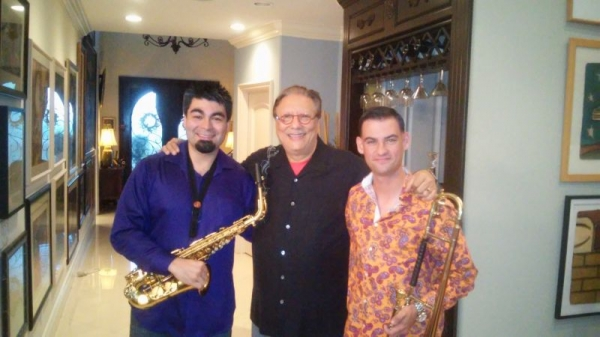 w/ my brother Charlie Arbelaez and Dr. Arturo Sandoval