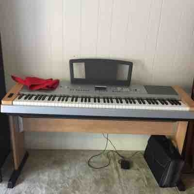 One of two piano keyboards, which I provide for use in my lessons.