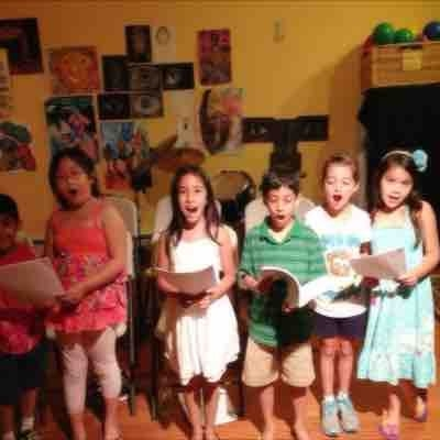 Some of my youngest singers.