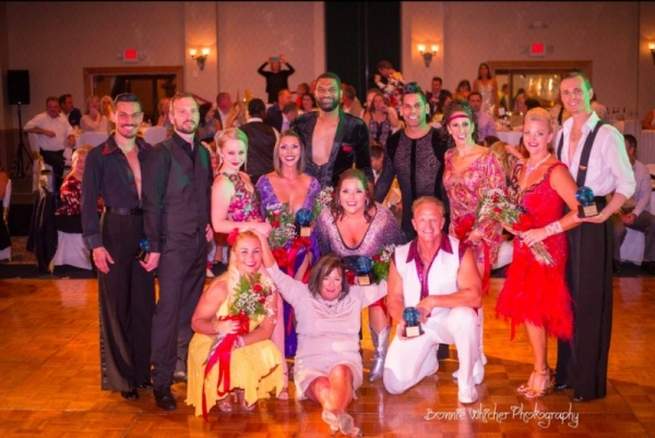 Dance partner for local celebs at Leesburg Florida's Dancing With The Stars style competition - Stepping Out for Education