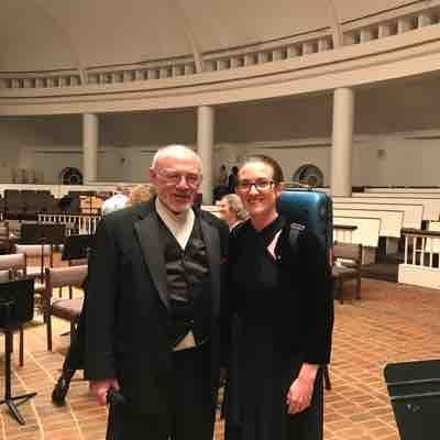 Recent performance with the Washington Sinfonietta; conductor Joel Lazar.  June 2017