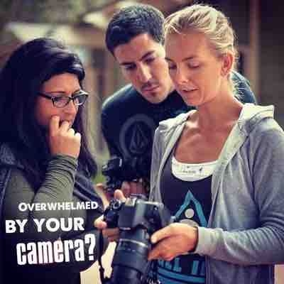 Overwhelmed by your camera? Now you don't have to be!