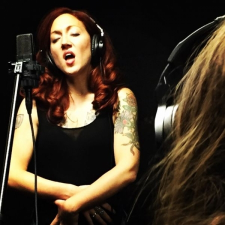 In the beginning stages of recording my next album, Luckiest Girl In The World...my stage name is Redgrave Jones.
