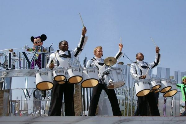 Performing in Rhythms of The World at Tokyo Disney