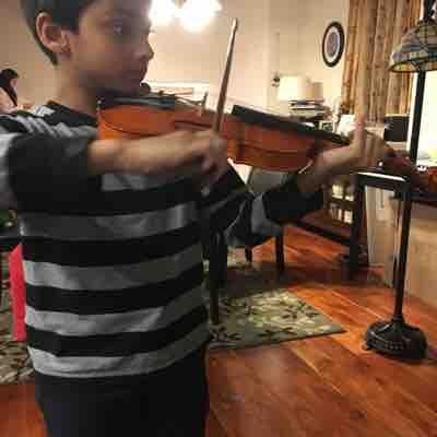 Violin lessons at the student's home