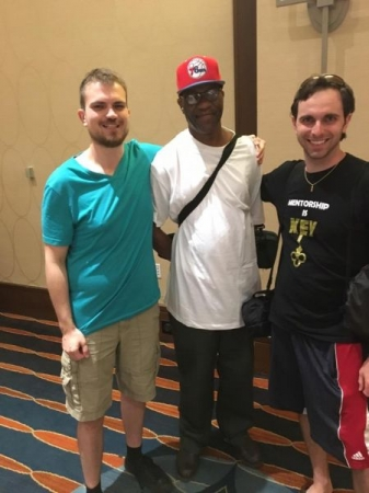 Me with fellow Philadelphia Chess Syndicate members at the 2017 World Open in Philadelphia, PA.
