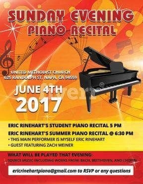 From my summer 2017 recital, turnout of 8 kids 60 attendees and lots of fun!