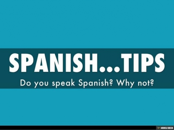 TIPS are helpful when learning a new language.