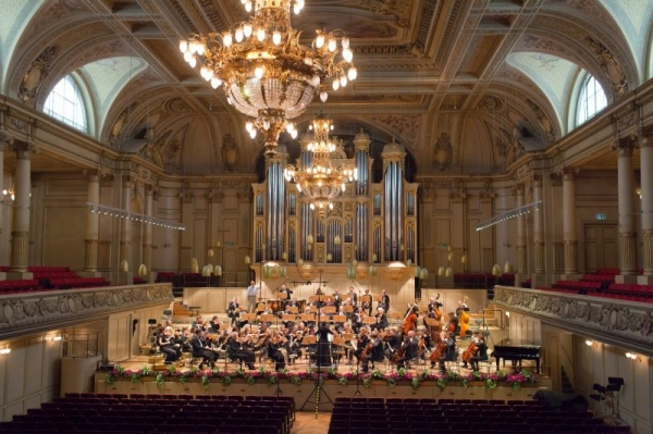 Zurich Tonhalle Concert Hall Performance with the Zurich Community Orchestra