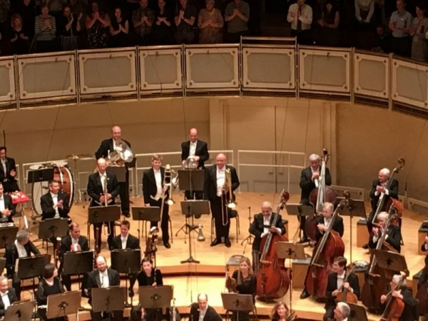 """Performing Holst's """"The Planets"""" with the Chicago Symphony Orchestra. May 2016"""