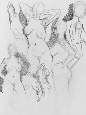 3 minute sketch exercises for figure drawing