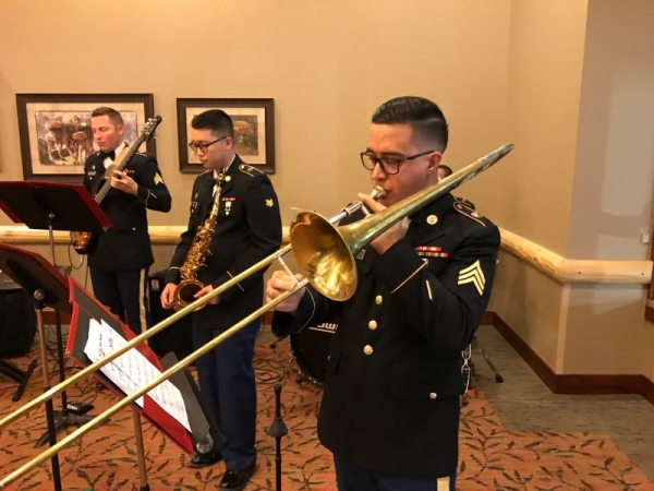 300th Army Band jazz combo