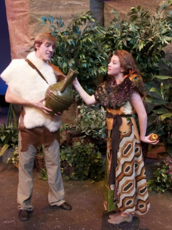 "Playing ""Eve"" in the musical Children of Eden"