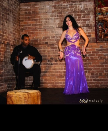 Performing with Madrinha