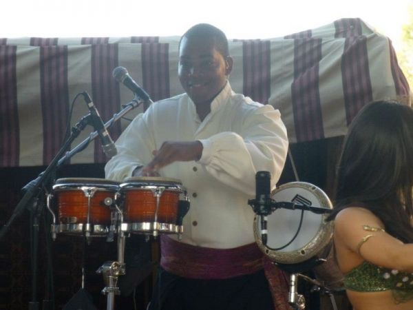 Performing with Mo Rockin at Disney's EPCOT