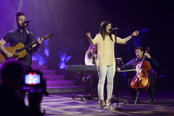 Playing for worship at Gateway Church - Southlake, Texas