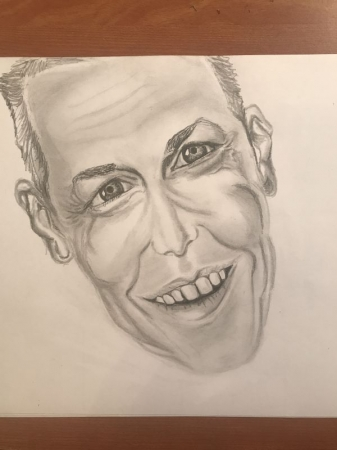 Fine Art Caricature by Samantha Glover
