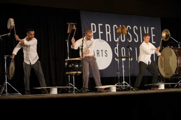 Performing at the Percussive Arts Society International Convention in San Antonio TX, 2015