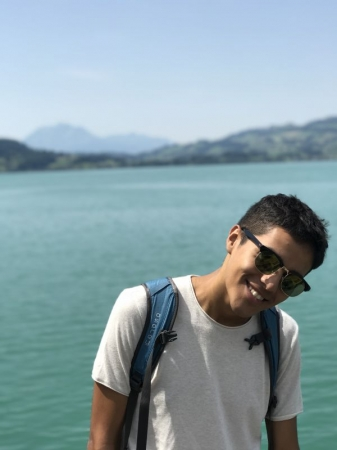 Me in Zug, Switzerland!