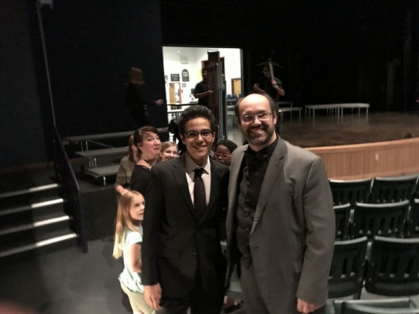 me with Marcelo Jardim; a very famous Brazilian conductor!